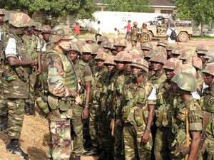 Commander Commends Ghanaian Troops