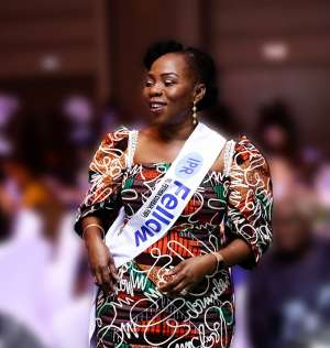 Esther Cobbah Becomes A Fellow Of IPR Ghana