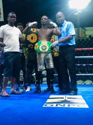 Box Office Exposes Ghana's Future World Boxing Champions On Fist Of Fury Bill