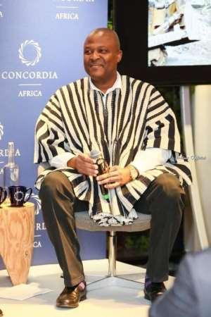 Ibrahim Mahama Mounts Concordia Africa Summit In London