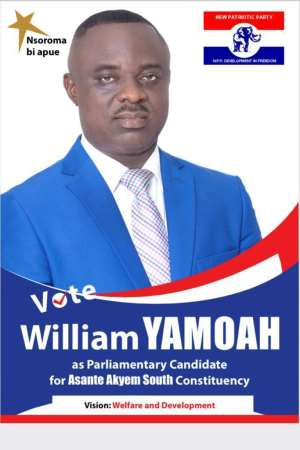 'Needy delegates' in Asante Akyem South begged me to contest as MP- William Yamoah