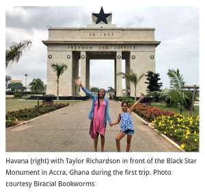Havana Chapman-Edwards Returns To Ghana To Fight For Girls' Education