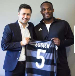 Michael Essien Finally Gets Player-Coach Role At Azerbaijani Side Sabail FC