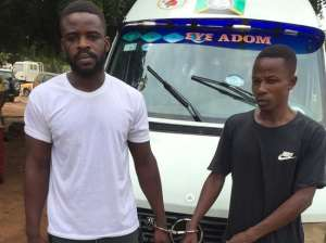 The suspected police beaters