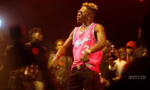 Shatta Wale Lights Up WatsUp TV Legon Hall Week Artiste Night Concert