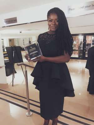 Dentaa Amoateng Is Recipient Of T.A.D's Honorary Award For Services To Community Development
