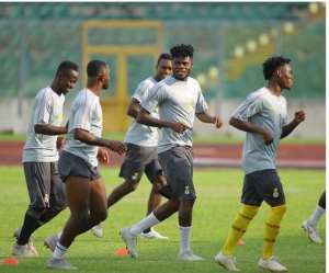 Black Stars Holds First Training Session Ahead Of Kenya Clash [PHOTOS]