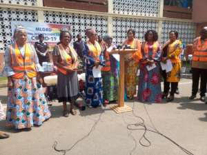 Female Ministers To Distribute Protective Materials To Market Women