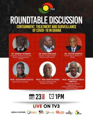 TV3 Presents Roundtable Of Public Health Experts On Covid-19