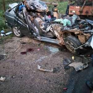 Pregnant Woman Killed In Car Crash Near Apam