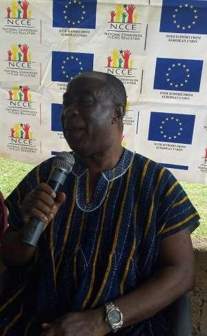 Be Rest Assured; Gov't Will Address All Your Needs—MCE Tells Essam Community