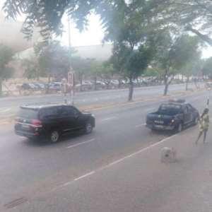 Coronavirus: Streets Of Accra Empty