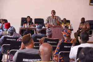 Kassena/Nankana Security Meets Stakeholders Over COVID-19