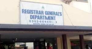 Registrar General's Department Closed To Business Over Coronavirus Scare