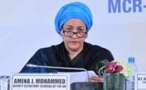 United Nations Deputy Secretary General, Amina Mohammed