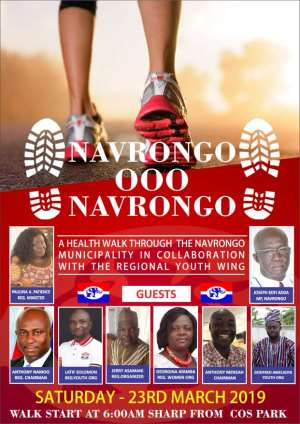 Re: Navrongo NPP Health Walk: Missing MP, MCE Photos On Poster Raise Questions Of Party Disunity