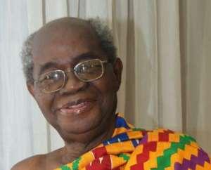 Highly accomplished Prof. J.H. Kwabena Nketia