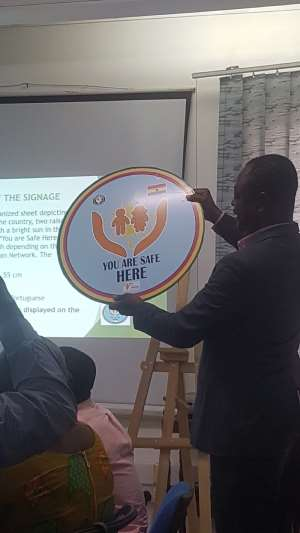 West African Network For Protection Of Children Introduces Signage