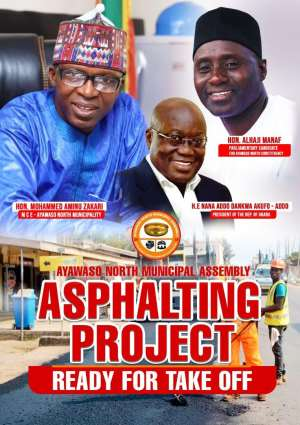 Ayawaso Roads: MCE Sets The Records Straight; Calls For Calm Amongst Constituents!!!
