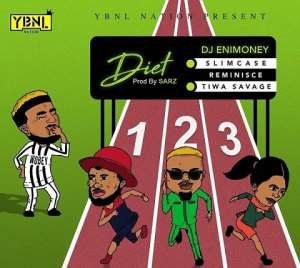 TIWA SAVAGE x REMINISCE x SLIMCASE x DJ ENIMONEY BRING THE HEAT IN 'DIET' VIDEO