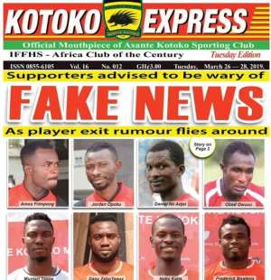 Asante Kotoko Rubbishes Terminating Contract of Six Players