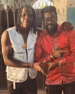 Stonebwoy Collaborates With Grammy Winner Beenie Man