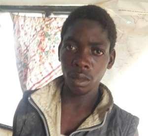 BUSTED! Mathew Kolani Gando