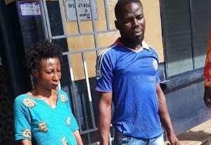 NABBED! Mawusi Rose Fianko and Lawson Lartey