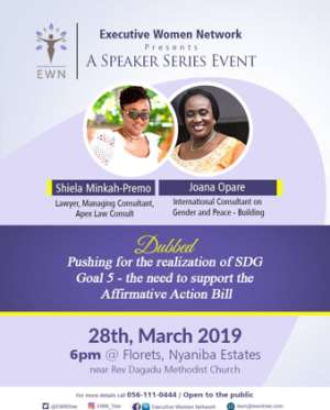Executive Women Network 2nd Speaker Series Comes Off Thursday 28th March