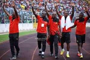 Black Stars technical team members