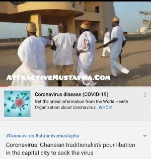 Coronavirus: Traditionalists Pour Libation To 'Sack' Virus [Video]