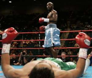 Kofi Jantuah Scores Sensational Knockout