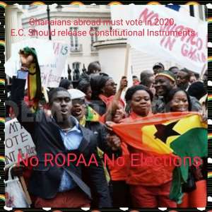 Towards ROPAA 2020: Diaspora Group Demand Constitutional Instruments From EC