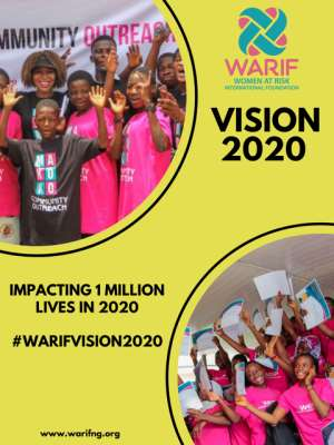WARIF Launches Vision 2020 Campaign