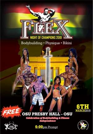 BodyBuilding: Flex Night Of Champions On March 6