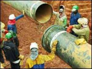 Gas pipeline to be completed in November