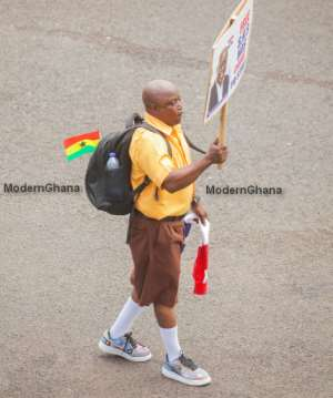 Ghana@63: Check The Man Who Stole The Show At The Independence Day Parade In Kumasi [Exclusive Photos]