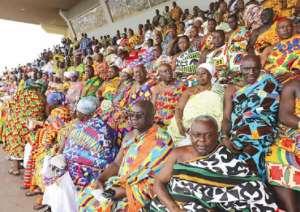 Kente Floods 63rd Independence Celebration In Kumasi