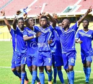Great Olympics End 4-Match Winless Run To Beat Ebusua Dwarfs 2-0