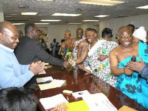 NY Asantefuohene is NCOGA President