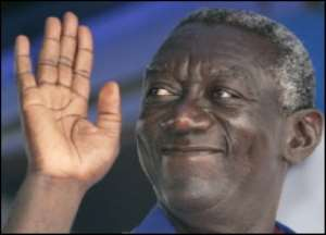 Kufuor appeals for realistic expectations
