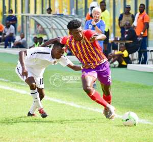 Inter Allies 1-1 Hearts Of Oak: Phobians Struggle To Earn A Point From Capelli Boys