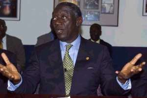 President Kufuor Is Running Out of Excuses