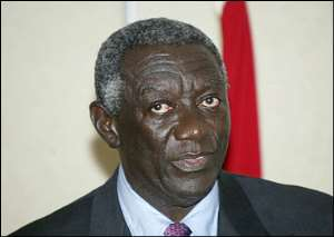 Kufuor begins second tenure of office on Friday
