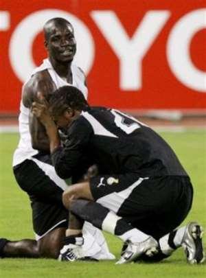 Black Stars Still In Shock