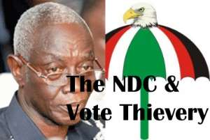 The NDC and Vote Thievery - Collaboration With Afari Gyan/EC