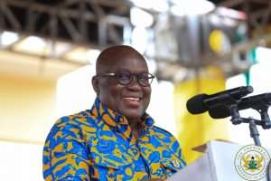 Nana Addo Tours Western North Region today