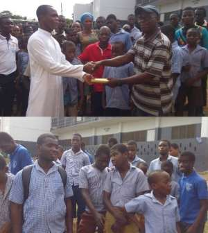 Akropong School For The Blind Receives Support From St Kizito Catholic Youth
