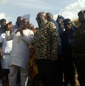 Akufo-Addo Says Western North Creation Not For Votes