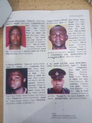 Police On Wild Hunt For 8 Suspects